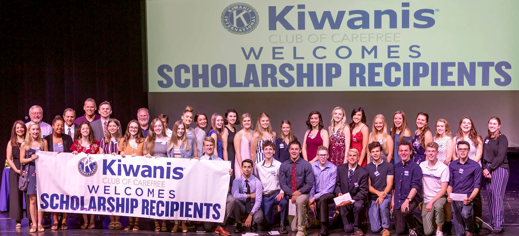 All Scholarship Recipients and Committee Members - Photo Taken By Bill Waters - 1800x800