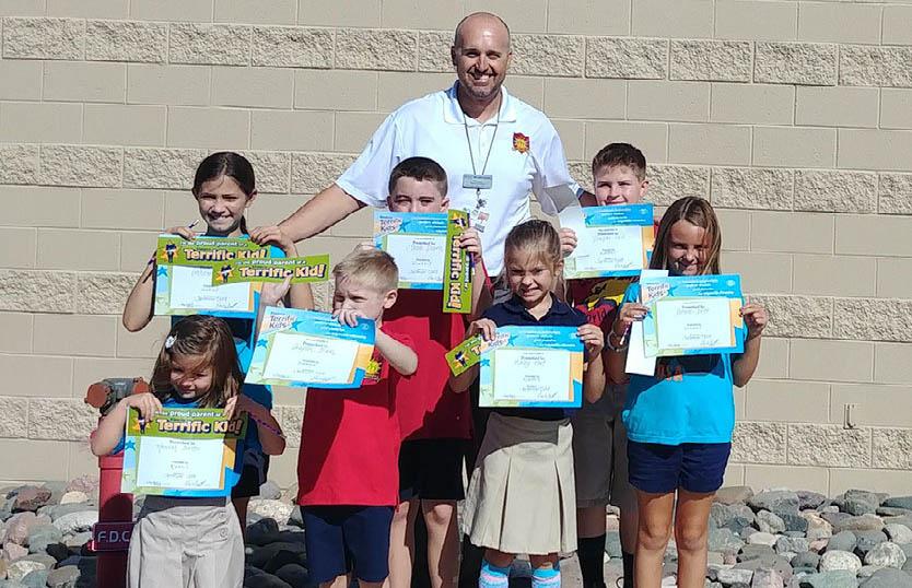 August Terrific Kids - desert sun elementary