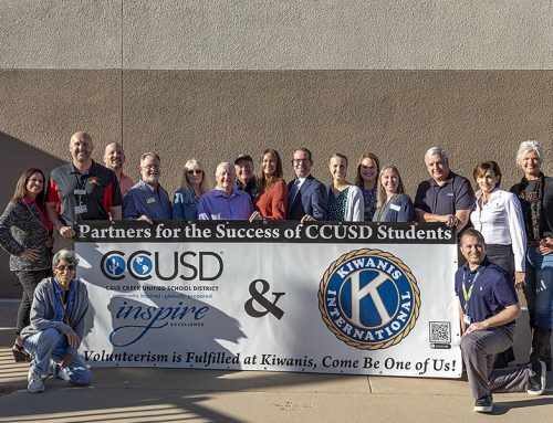 CCUSD Recognizes All Of Kiwanis of Carefree's Support